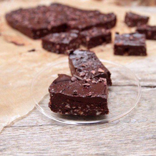 Raw chili brownie by Tanja Ting